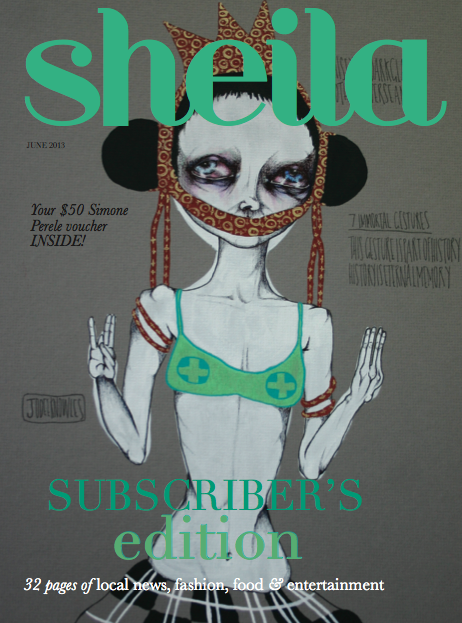 sheila subs cover july