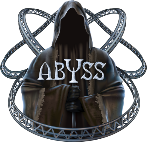Adventure World_Abyss_Roller Coaster_ Logo